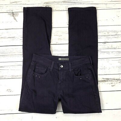 Levis 505 Jeans Size 4 Womens Straight Leg Purple Denim Stretch Studded