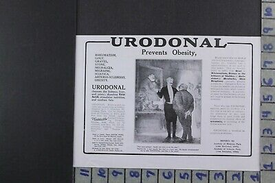1916 Medical Health Urodonal Weight Loss Medicine Obesity Ad Dy046