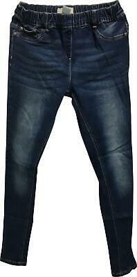 PRE-OWNED Girls Next Blue Skinny Trousers Jeans Age 16 Years PJ302