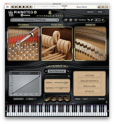 NEW Pianoteq 6 Standard Virtual Piano True Modelling Instrument PC/MAC