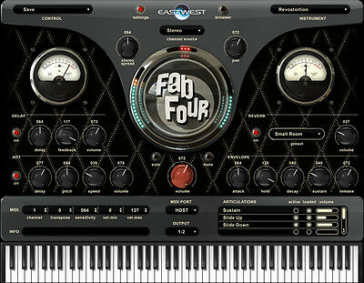 NEW East West Fab Four Virtual Instrument Pro Tools Cubase Plug In PC/MAC