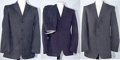 3 Suit Bundle Austin Reed Super 100 S Wool Burton M S 40r W33 L30 Clearence Sale Eur 6 91 Picclick Fr