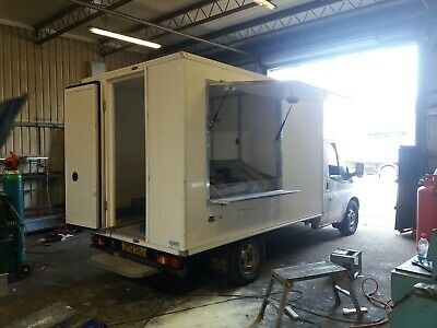 Catering trailer / van hatch made to order