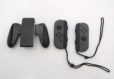 Genuine OEM Nintendo Switch Left Right Joy-Con Controller w/ Straps Comfort Grip