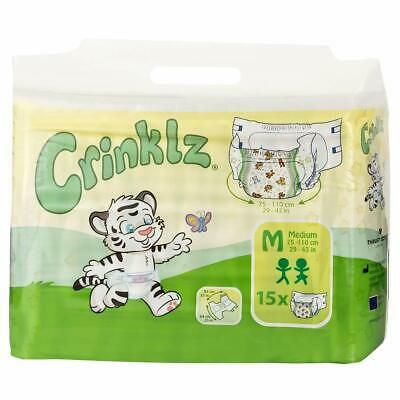 Crinklz - ABDL Nappies - Pack of 15 Diapers