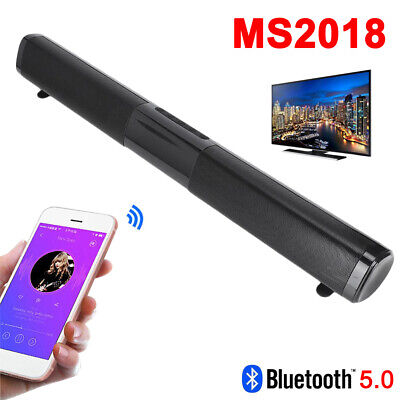 MS2018 Wireless Bluetooth 5.0 Speaker Sound Bar Stereo Home Bass Audio Subwoofer