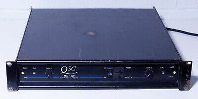 QSC MX1500 dual monaural AMPLIFIER