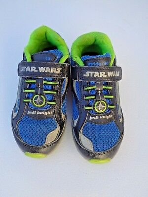 Stride Rite Toddler Boy Star Wars Darth Vader Lighted Black Sneakers Shoes Shoe