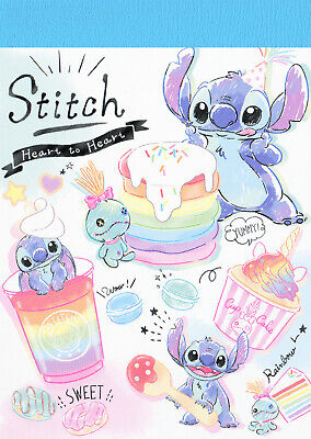 "Kamio / Disney ""Stitch"" (Lilo and Stitch) Mini Memo / Notepad"