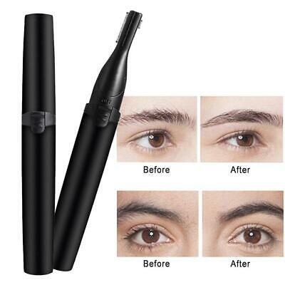 Electric Eyebrow Trimmer Brow Shaping Remover Razor Facial Hair Removal Washable