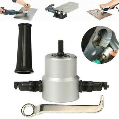 Metal Cutting Machine Double Head Metal Sheet Cutter Nibble Drill Tool Accessory