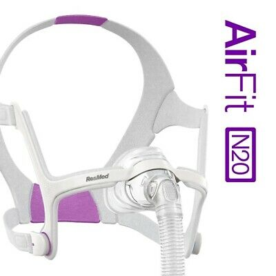 ResMed AirFit™ N20 For Her Nasal CPAP Mask with Headgear (Size S)