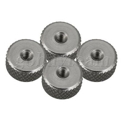 4 x Stainless Steel M3 Thread Knurled Nuts Thumb Nuts 12x6mm Spare Parts