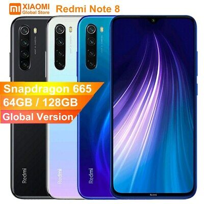 Xiaomi Redmi Note 8 Pro / Note 8 64GB 128GB MIUI 10 Octa Core AI Camera Global A