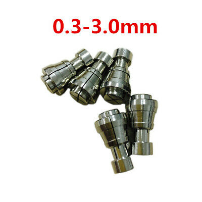 1pc Sodick Machine CNC Wire EDM Drill Guide 0.3-3.0 mm Stainless Steel Collet