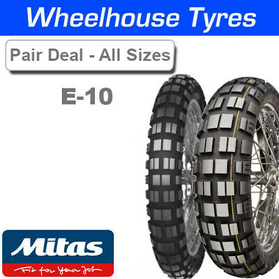 Mitas E-10 & E-10 Dakar Tyre Pairs Deal - All Options