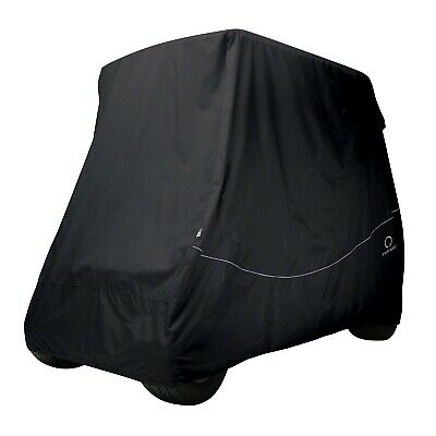 Classic Accessories Fairway 2 Persona Golf Cart Calzata Comoda Copertura | Nero