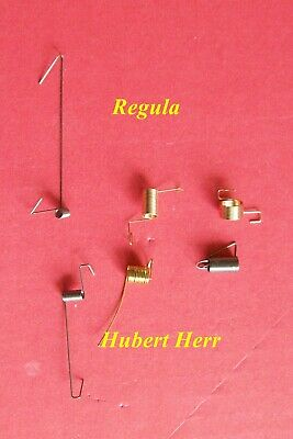 Tension spring assortment,   pack of 6 for cuckoo clocks