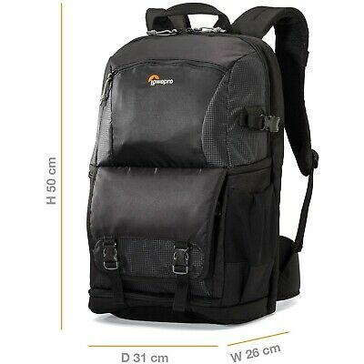 Lowepro Fastpack 250 AW II Photographic Backpack, All Weather Cover for Lapto...