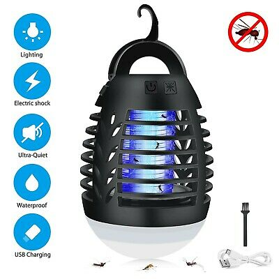 Bug Zapper, Sunvook Mosquito Killer Lamp 2-in-1 Electronic UV Insect Killer F...