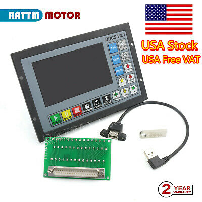 【US Stock】4 Axis 500KHz Offline Motion Controller System DDCSV3.1 For CNC Router