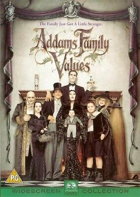 Addams Family Values - UK Region 2 DVD - Raul Julia / Angelica Huston