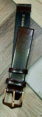 Uesd 12 mm Brown Leather strap