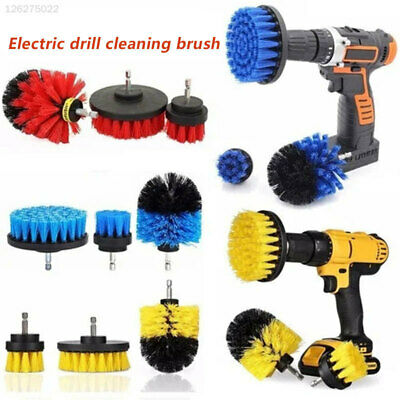 4824 3pcs/Set Electric Drill Brush Obstinate Stain Cleaning Tools Durable