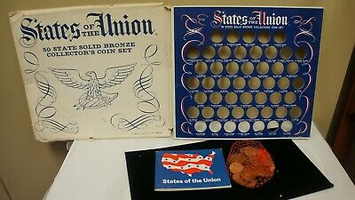 1969 Shell Oil Comp. States Of The Union Token Set