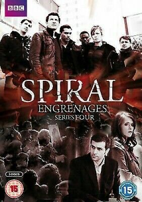 Spiral: Series Four - UK Region 2 DVD - Gregory Fitoussi