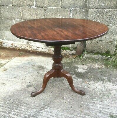 Georgian Mahogany Tripod Table
