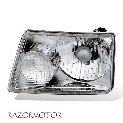 2001-2011 Driver Replacement Headlight Lamp For Ford Ranger Pickup Truck w/ Bulb