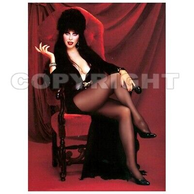 Fridge Magnet Elvira Hot Legs! witch Halloween horror pin-up girl art