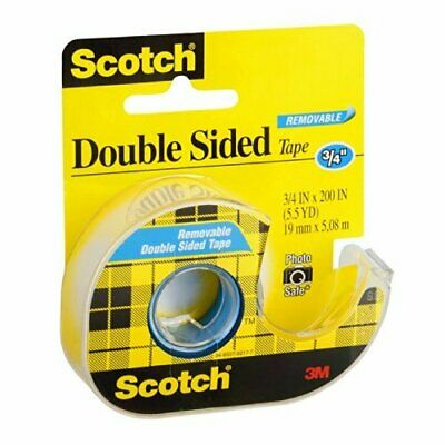 "3m 238 3/4"" X 200"" Scotch�� Double Sided Removable Tape"
