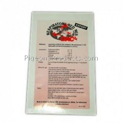 Racing Pigeons - Respiratory Red Mix - Bacterial Infections - by DAC