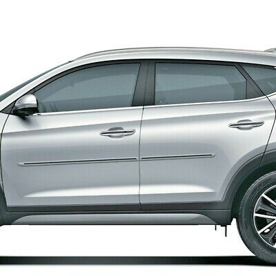HYUNDAI TUCSON 2016-2019 PAINTED BODY SIDE Moldings TRIM Mouldings For
