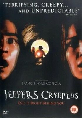 Jeepers Creepers - UK Region 2 DVD - Gina Philips / Justin Long