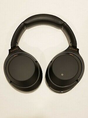 Sony WH-1000XM3/B Wireless Bluetooth Noise Canceling Stereo Headphones   - Black