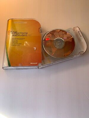 Microsoft Office Home and Student 2007- Excellent Condition