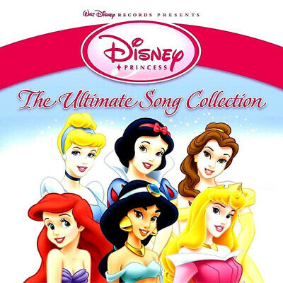 Various - Disney Princess: The Ultimate Song Collection - UK CD album 2006