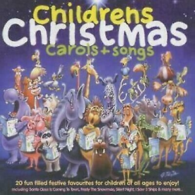 Various Artists - Childrens Christmas Carols + Songs - UK CD album 1996