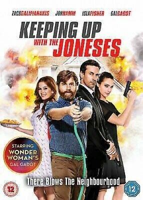 Keeping Up With the Joneses - UK Region 2 DVD - Isla Fisher