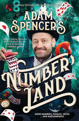 NEW Adam Spencer's Numberland By Adam Spencer Paperback Free Shipping