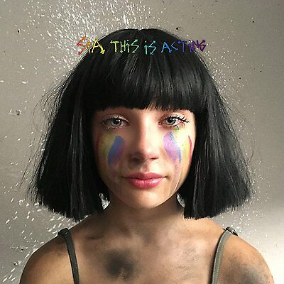 Sia - This Is Acting: Deluxe Edition - UK CD album 2016