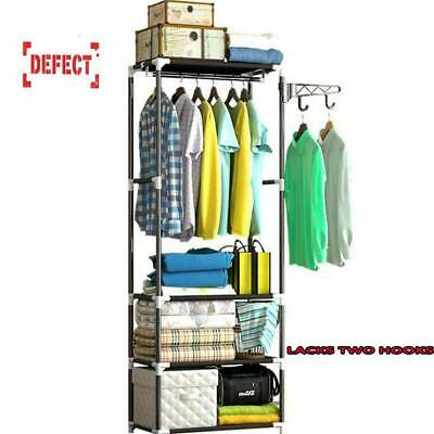 Clothes Rail Rack Garment Dress Hanging Display Stand Shoe Rack Storage Shelf U