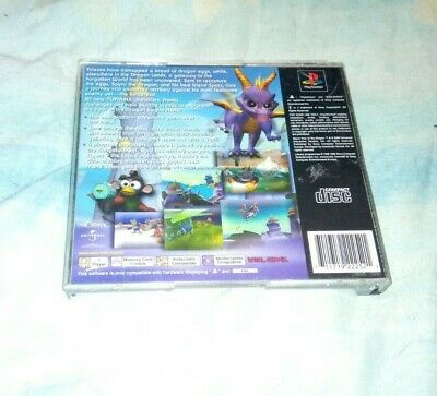Spyro Year Of The Dragon Back Inlay Only No Game Back Cover Only Ps1 Sony