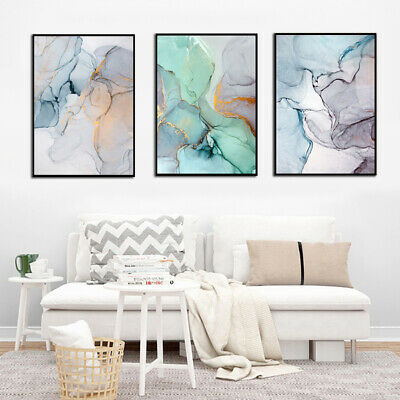 Nordic Abstract Style Canvas Painting Wall Picture Poster Home Decoration Deluxe