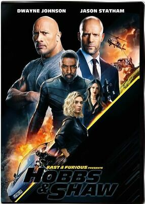 Fast And Furious Presents HOBBS & SHAW (DVD, 2019)  Hobbs & Shaw FREE SHIPPING