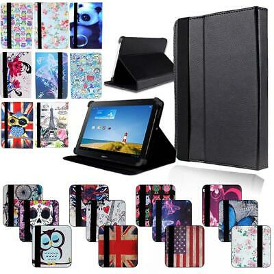 """FOLIO LEATHER STAND COVER CASE For 7"""" 8"""" 10"""" Huawei MediaPad T1 T2 T3 T5 Tablet"""