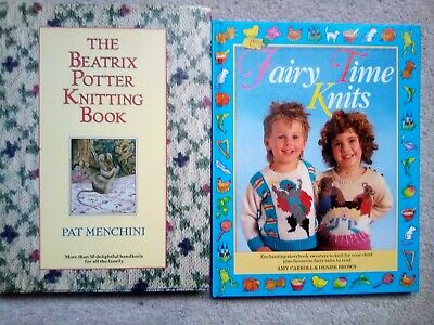 The Beatrix Potter Knitting Book &Fairy Time Knits Hardback Book patterns